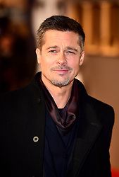 Brad Pitt attending the 'Allied' UK Premiere at Odeon Leicester Square, London.