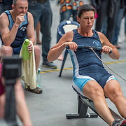 Amanda Puddle FEMALE HEAVYWEIGHT Masters D 500mtr Race #17 01:15pm<br /> <br /> www.rowingcelebration.com Competing on Concept 2 ergometers at the 2018 NZ Indoor Rowing Championships. Avanti Drome, Cambridge,  Saturday 24 November 2018 © Copyright photo Steve McArthur / @RowingCelebration
