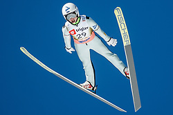 Artti Aigro of Estonia during the Ski Flying Hill Individual Qualification at Day 1 of FIS Ski Jumping World Cup Final 2018, on March 22, 2018 in Planica, Slovenia. Photo by Ziga Zupan / Sportida