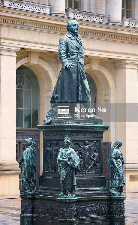 Statue for Freiherr von Stein near the Berlin House of Representatives, Berlin, Germany