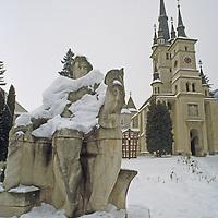Saint Nicholas Church, oldest Orthodox church in Brasov.