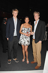 Left to right, the HON.WILLIAM NALL-CAIN, the HON.ANTALYA NALL-CAIN and the HON.ALEX NALL-CAIN children of Lord Brocketat a party to celebrate the launch of the new Fiat Bravo held at The Roundhouse Theatre, Chalk Farm Road, London on 13th June 2007.<br /><br />NON EXCLUSIVE - WORLD RIGHTS