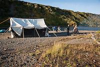 Ouzel Campsite along the lower Kanektok River...Shot in Alaska, USA