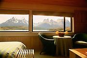 Hotel Explora, Parque Nacional, Torres Del Paine, Patagonia, Chile<br />