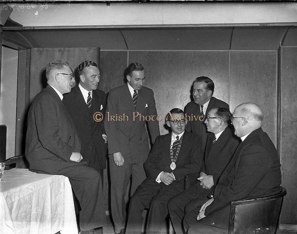 02/02/1957<br /> 02 February 1957<br /> <br /> Presentation College Cork, PPU Dublin Branch Dinner