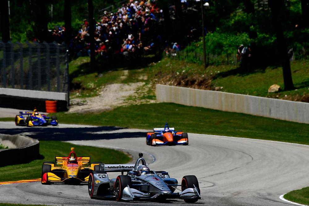 Josef Newgarden, Team Penske Chevrolet<br /> Sunday 24 June 2018<br /> KOHLER Grand Prix at Road America<br /> Verizon IndyCar Series<br /> Road America WI USA<br /> World Copyright: Scott R LePage