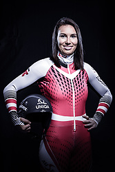 12.10.2019, Olympiahalle, Innsbruck, AUT, FIS Weltcup Ski Alpin, im Bild Christine Scheyer // during Outfitting of the Ski Austria Winter Collection and the official Austrian Ski Federation 2019/ 2020 Portrait Session at the Olympiahalle in Innsbruck, Austria on 2019/10/12. EXPA Pictures © 2020, PhotoCredit: EXPA/ JFK