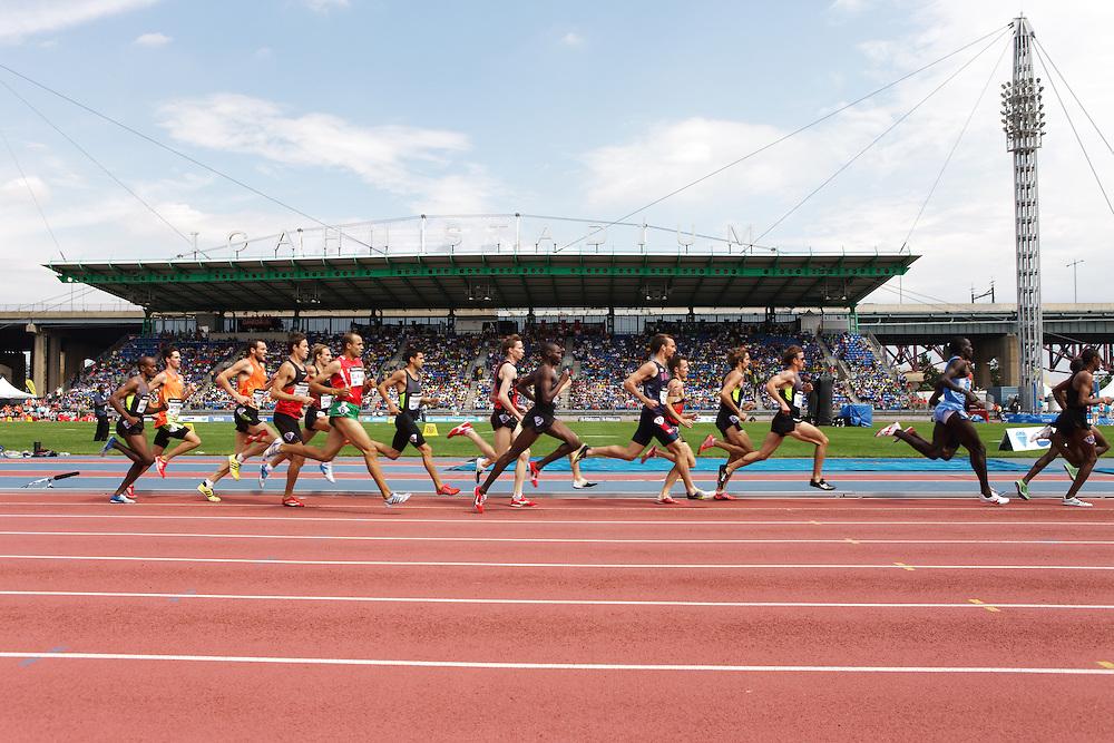 Samsung Diamond League adidas Grand Prix track & field; men's 1500 meters,