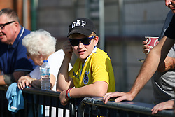A Bristol Rovers fan before kick off - Mandatory by-line: Arron Gent/JMP - 21/09/2019 - FOOTBALL - Cherry Red Records Stadium - Kingston upon Thames, England - AFC Wimbledon v Bristol Rovers - Sky Bet League One