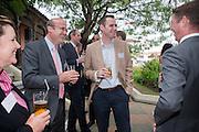 JAMES VLASTO, Archant Summer party. Kensington Roof Gardens. London. 7 July 2010. -DO NOT ARCHIVE-© Copyright Photograph by Dafydd Jones. 248 Clapham Rd. London SW9 0PZ. Tel 0207 820 0771. www.dafjones.com.