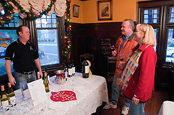 California: Napa City.  Wine during B&B Holiday Tour at Beasley House.  Photo copyright Lee Foster.  Photo # canapa106985