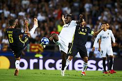 September 19, 2018 - Valencia, Spain - Michy Batshuayi controls the ball during the Group H match of the UEFA Champions League between Valencia CF and Juventus at Mestalla Stadium on September 19, 2018 in Valencia, Spain. (Credit Image: © Jose Breton/NurPhoto/ZUMA Press)