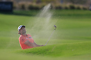 Victor Dubuisson (FRA) on the 18th during the final round of  the Saudi International powered by Softbank Investment Advisers, Royal Greens G&CC, King Abdullah Economic City,  Saudi Arabia. 02/02/2020<br /> Picture: Golffile   Fran Caffrey<br /> <br /> <br /> All photo usage must carry mandatory copyright credit (© Golffile   Fran Caffrey)
