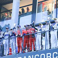 LMGTE Pro Podium: 1- AF Corse, 2- Ford Chip Ganassi, 3- Aston Martin, FIA WEC 6hrs of Spa 2016, 07/05/2016,