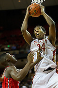 Rick Curry (24) of South Grand Prairie grabs a rebound against Fort Bend Travis during the UIL 5A state championship game at the Frank Erwin Center in Austin on Saturday, March 9, 2013. (Cooper Neill/The Dallas Morning News)