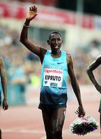 Friidrett , 13. juni 2013 , Diamond League , Bislett Games<br /> Athletics , June 13th 2013 , <br /> Conseslus Kipruto ,KEN winner 3000 m steepchase