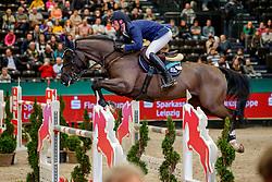 DEUSSER Daniel (GER), Mr. Jones<br /> Leipzig - Partner Pferd 2020<br /> FUNDIS Youngster Tour<br /> Finale für 8jährige Pferde<br /> Zwei-Phasen Springprfg., int.<br /> Höhe: 1.40 m<br /> 19. Januar 2020<br /> © www.sportfotos-lafrentz.de/Stefan Lafrentz