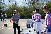 Shadow Indoor Percussion performs at  the WGI Percussion and Winds World Championships at Millet Hall in Oxford, Ohio at  on April 15, 2016.
