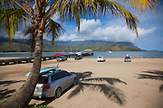 Hanalei Bay and Pier, Kauai, Hawaii