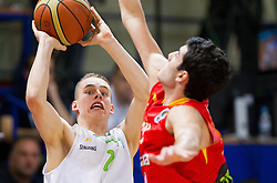 Klemen Prepelic of Slovenia during basketball match between National teams of Slovenia and Spain in Qualifying Round of U20 Men European Championship Slovenia 2012, on July 18, 2012 in Domzale, Slovenia. Slovenia defeated Spain 70-63. (Photo by Vid Ponikvar / Sportida.com)