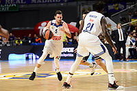 Real Madrid's Rudy Fernandez and Othello Hunter during Turkish Airlines Euroleague between Real Madrid and Brose Bamberg at Wizink Center in Madrid, Spain. December 20, 2016. (ALTERPHOTOS/BorjaB.Hojas)
