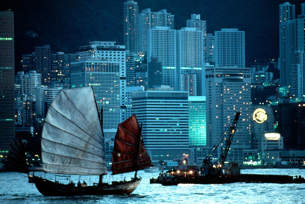 Junk, Hong Kong, China