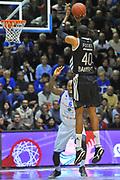 DESCRIZIONE : Eurocup 2013/14 Gr. J Dinamo Banco di Sardegna Sassari -  Brose Basket Bamberg<br /> GIOCATORE : D'Or Fischer<br /> CATEGORIA : Tiro Tre Punti<br /> SQUADRA : Brose Basket Bamberg<br /> EVENTO : Eurocup 2013/2014<br /> GARA : Dinamo Banco di Sardegna Sassari -  Brose Basket Bamberg<br /> DATA : 19/02/2014<br /> SPORT : Pallacanestro <br /> AUTORE : Agenzia Ciamillo-Castoria / Luigi Canu<br /> Galleria : Eurocup 2013/2014<br /> Fotonotizia : Eurocup 2013/14 Gr. J Dinamo Banco di Sardegna Sassari - Brose Basket Bamberg<br /> Predefinita :