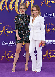 Johnny Knoxville arriving to the 'Aladdin' World Premiere at El Capitan Theatre. 21 May 2019 Pictured: Natasha Bure and Candace Cameron Bure. Photo credit: O'Connor/AFF-USA.com / MEGA TheMegaAgency.com +1 888 505 6342
