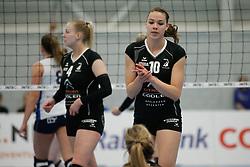 20180425 NED: Eredivisie Sliedrecht Sport - Coolen Alterno, Sliedrecht <br />(L-R) Lisanne Baak (10) of Coolen Alterno<br />©2018-FotoHoogendoorn.nl / Pim Waslander