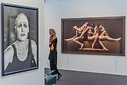 Glen Close by Herb Ritts and Four by Yoram Roth in Camera Work - Photo London, an international photography event befitting in its third edition, Along with the selection of the world's leading galleries showing at the Fair, Photo London presents the Discovery section for the most exciting emerging galleries and artists. There is also a Public Programme bringing together special exhibitions and talks. The event runs until 21 May. London 17 May 2017.