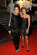 Beau Monde Awards 2012 in het Amstel Hotel, Amsterdam.<br /> <br /> Op de foto:  Patty Brard en Leontien van Moorsel