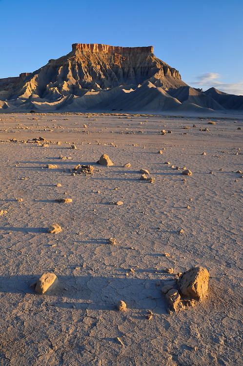 North Caineville Mesa in Utah's San Rafael Desert.