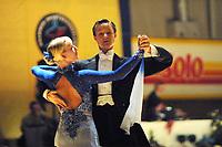 Dans, NM flerdans 10. november 2001. Ungdom elite Mats Christian Lund og Marit Westbye, NeRo.