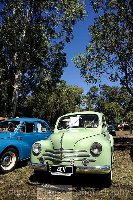Classic Renault 4CV. 2011 Classic Car Show, Whiteman Park, Perth, Western Australia. March 20, 2011