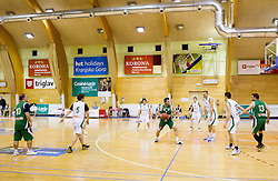 Basketball match between Slovenian Basketball journalists and  Basketball federation of Slovenia, on March 13, 2013 in Arena Vitranc, Kranjska Gora, Slovenia. (Photo by Vid Ponikvar / Sportida.com)