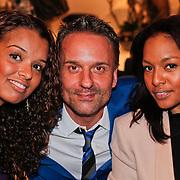 NLD/Amsterdam/20101116 - Boekpresentatie Erik Kusters, Erik Kusters en Winonah de Jong - Leefland