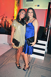 Left to right, TAMARA ECCLESTONE and her mother SLAVICA ECCLESTONE at the F1 Party in aid of the Great Ormond Street Hospital Children's Charity held at the V&A, Londonon 17th June 2009.