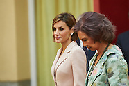 042915 Queen Letizia and Queen Sofia attend the Delivery of the Reina Sofía Awards 2014