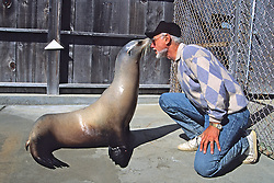 Sea Lion & Ron Schusterman