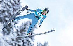 15.12.2017, Gross Titlis Schanze, Engelberg, SUI, FIS Weltcup Ski Sprung, Engelberg, im Bild Tilen Bartol (SLO) // Tilen Bartol of Slovenia during Mens FIS Skijumping World Cup at the Gross Titlis Schanze in Engelberg, Switzerland on 2017/12/15. EXPA Pictures © 2017, PhotoCredit: EXPA/JFK