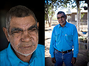 Tony Green from the nearby Aboriginal community. He worked on Brunette Downs since he was a young man.