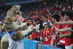 June 15, 2018 - Sochi, Russia - June 15, 2018, Russia, Sochi, FIFA World Cup, First round, Group B, Portugal vs Spain at Fisch Stadium. Joy; happiness; victory; Goal; (Credit Image: © Russian Look via ZUMA Wire)