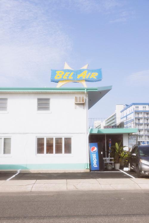 The Bel Air Motel, Wildwood New Jersey, 2021