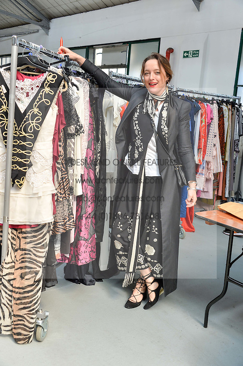 ALICE TEMPERLEY at #SheInspiresMe Car Boot Sale in Aid of Women for Women International held at the Brewer Street Carpark, Soho, London on 23rd April 2016.