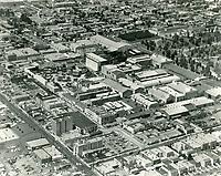 1968 Aerial of Paramount Studios