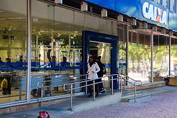 June 10, 2017 - Caixa abrio 18 agências em Porto Alegre, neste sábado (10), para, a quarta fase do saque das contas inativas do Fundo de Garantia do Tempo de Serviço  (Credit Image: © Omar De Oliveira/Fotoarena via ZUMA Press)