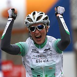 Sportfoto archief 2006-2010<br /> 2010<br /> Loes Gunnewijk wint de Unive Worldcup ronde van Drenthe voor Vrouwen