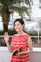 Moon Sori at the DA-REUN NA-RA-E-SUH (IN ANOTHER COUNTRY) film photocall at the 65th Cannes Film Festival. Monday 21st May 2012 in Cannes Film Festival, France.