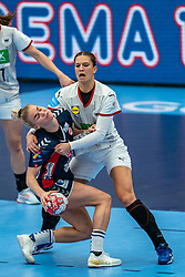 / in action during the Women's EHF Euro 2020 match between Germany and Norway at Sydbank Arena on december 05, 2020 in Kolding, Denmark (Photo by RHF Agency/Ronald Hoogendoorn)
