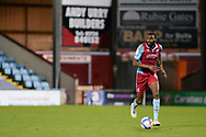 Scunthorpe United Emannuel Onariase (6) runs forward during the EFL Sky Bet League 2 match between Scunthorpe United and Bolton Wanderers at the Sands Venue Stadium, Scunthorpe, England on 24 November 2020.